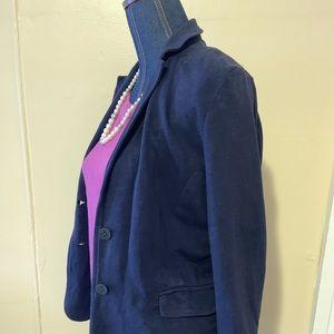 Jcrew Navy cotton blazer size small